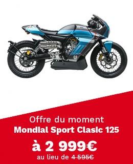 Moto F.B Mondial Sport Classic 125 - Pagani